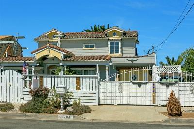 Oceanside Single Family Home For Sale: 1304 Langford St