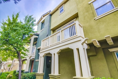 Chula Vista Townhouse For Sale: 1811 Lime Court #Unit 2