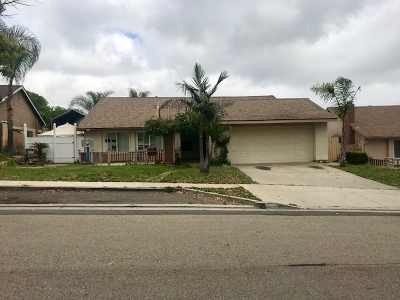 San Marcos Single Family Home For Sale: 191 Avenida Elena
