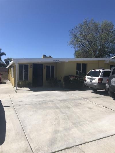San Marcos Single Family Home For Sale: 3821 Linda Vista Dr