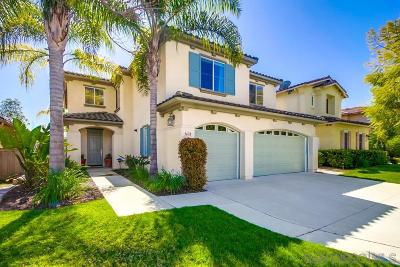 Carlsbad Single Family Home Sold: 3678 Strata Dr