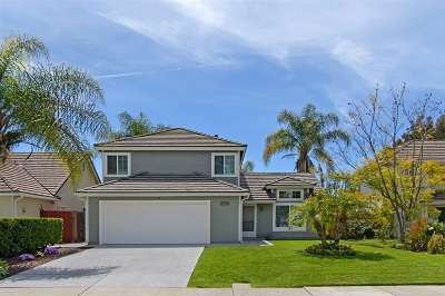 San Diego Single Family Home For Sale: 11225 Woodrush Lane