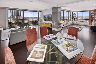 San Diego Attached For Sale: 700 Front Street #1701