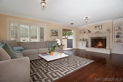 La Jolla Townhouse For Sale: 203 Rosemont St