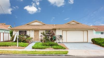 Chula Vista Single Family Home For Sale: 519 Arizona St.