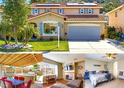 Fallbrook Single Family Home For Sale: 3462 Lake Park Ave.