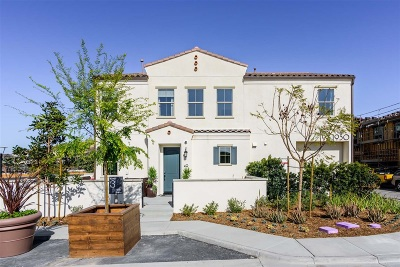 Chula Vista Townhouse For Sale: 1926 Corte Agata #140