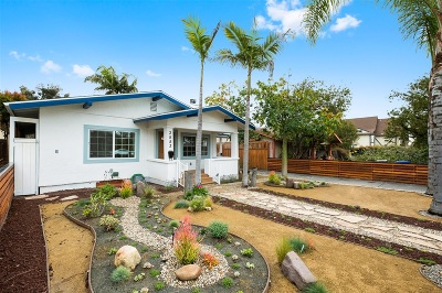 North Park, North Park - San Diego, North Park Bordering South Park, North Park, Kenningston, North Park/City Heights Single Family Home For Sale: 3551-3553 31st St
