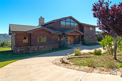 Julian Single Family Home For Sale: 15904 Cuyamaca Forest Road