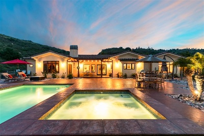 Bonsall Single Family Home For Sale: 6955 Via De La Reina