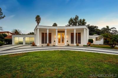 Carlsbad Single Family Home For Sale: 7026 Estrella De Mar Rd