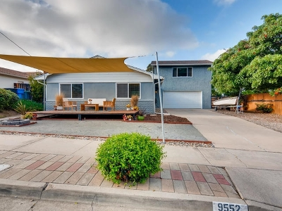 Single Family Home For Sale: 9552 Bray Ave