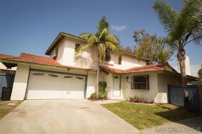 Chula Vista Single Family Home For Sale: 1538 Point Dume Ct