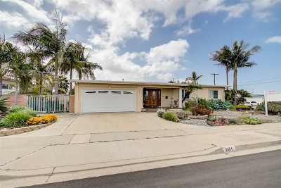 San Diego CA Single Family Home For Sale: $625,000
