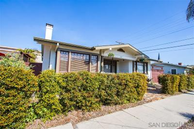 University Heights, University Heights/Hillcrest, University Heights/Mission Hills, University Heights/North Park Single Family Home For Sale: 2620 Madison Ave