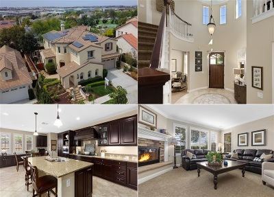Carlsbad CA Single Family Home For Sale: $1,234,567