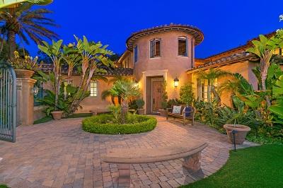 Rancho Santa Fe Single Family Home For Sale: 7721 Camino De Arriba