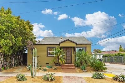 San Diego Multi Family 2-4 For Sale: 3627 Dwight Street