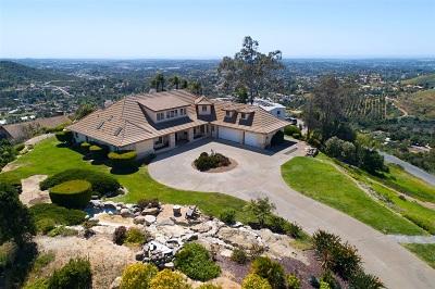 Vista Single Family Home For Sale: 3691 Camino De Las Lomas