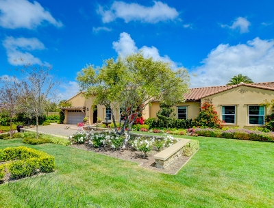 Encinitas/Leucadia, Leucadia, Leucadia Beach Community, Leucadia/Encinitas Single Family Home For Sale: 1183 Tuscany Ct