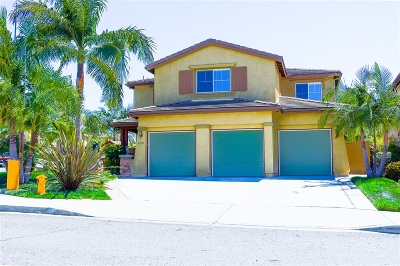 Oceanside Single Family Home For Sale: 5281 Willow Walk