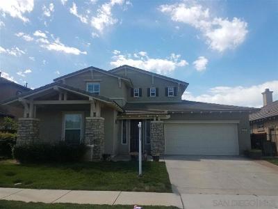 Escondido Single Family Home For Sale: 2813 Oro Blanco Circle