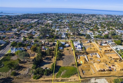 Carlsbad Residential Lots & Land For Sale: 3828 Highland Dr