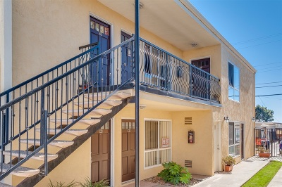 Imperial Beach Attached For Sale: 243 Ebony Ave #11