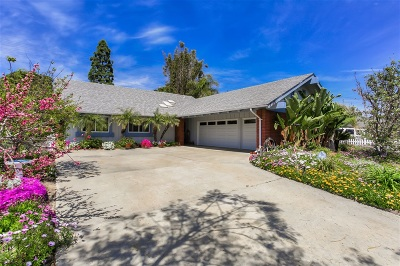 Carlsbad Single Family Home For Sale: 1718 Cannas Court