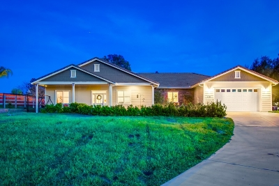 Ramona CA Single Family Home For Sale: $974,999