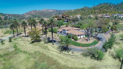 Escondido Single Family Home For Sale: 2322 E El Norte Pkwy