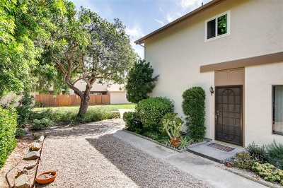 Rancho Penasquitos, Rancho Penesquitos Attached For Sale: 9916 Paseo Montalban