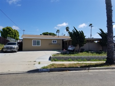 Chula Vista Single Family Home For Sale: 311 E Prospect Ct.