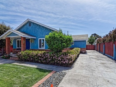 San Diego Single Family Home For Sale: 3257 L St