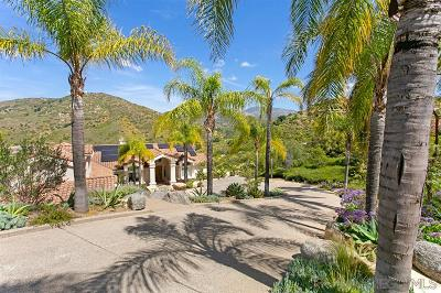 San Diego CA Single Family Home For Sale: $1,848,000