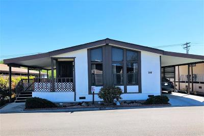 San Marcos Mobile/Manufactured For Sale: 1286 Discovery St. #144