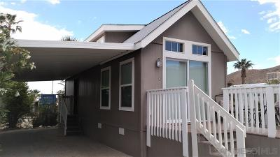 Mobile/Manufactured For Sale: 351 Palm Canyon Dr #24
