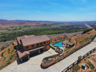 Fallbrook Single Family Home For Sale: 3507 Monserate Hill Rd