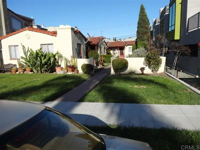 San Diego CA Multi Family 5+ For Sale: $1,050,000