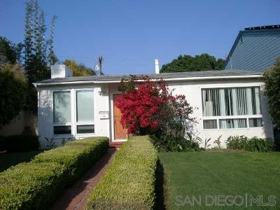 San Diego County Single Family Home For Sale: Chelsea Ave
