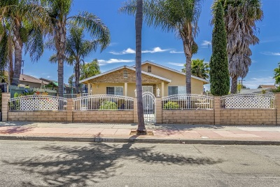 Oceanside Single Family Home For Sale: 1431 Bush St.