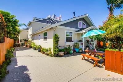 San Diego County Multi Family 2-4 For Sale: 3143 Madison St