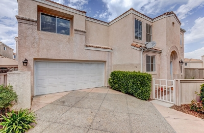 Chula Vista Single Family Home For Sale: 976 Caminito Estrella