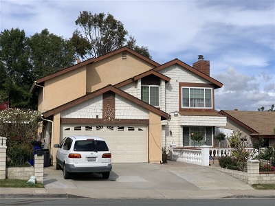 San Diego Single Family Home For Sale: 2723 Alta View Drive