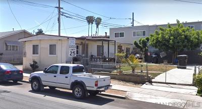 San Diego CA Single Family Home For Sale: $550,000