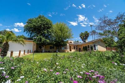 Lakeside Single Family Home For Sale: 11053 Oak Creek