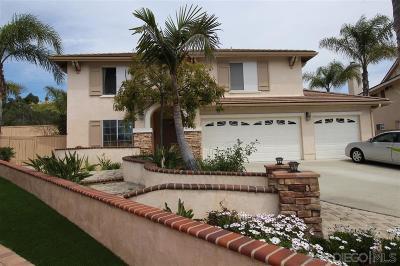 San Marcos Single Family Home For Sale: 780 Hillsboro Way