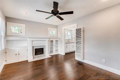 San Diego Single Family Home For Sale: 3602 Polk Ave