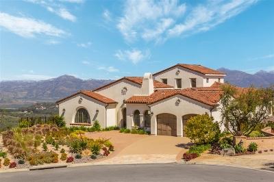 Rancho Santa Fe Single Family Home For Sale: 18112 Avenida Orilla