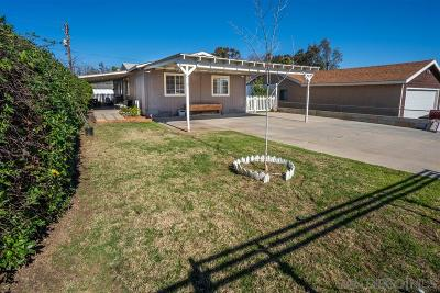 Ramona Single Family Home For Sale: 430 10th St